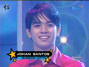 Johan Santos StarStruck